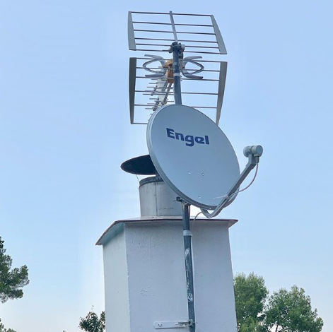 Instalar antena TDT en Rubi